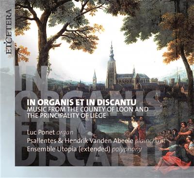 IN ORGANIS ET IN DISCANTU   CD